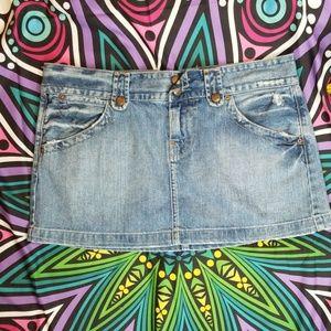 LUCKY BRAND Jean denim mini skirt size 10